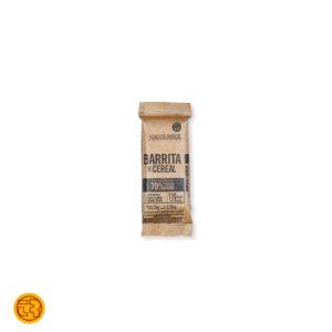 BARRITAS DE CEREAL HAVANNA CON CHOCOLATE 70% CACAO PURO 28gr.